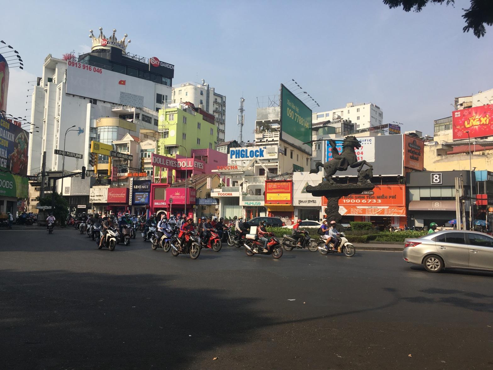 Vietnam, Kreisel, Ho-Chi-Minh, Saigon, Blog, Reisen